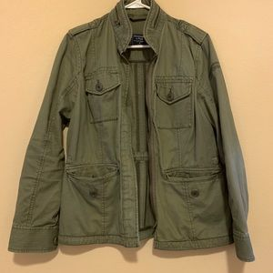A&F velvet ruby jacket